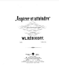 Aspirer et atteindre, Op.25: Aspirer et atteindre by Vladimir Ivanovich Rebikov