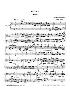 Six Fugues, Op.17: Six Fugues by Nikolai Rimsky-Korsakov