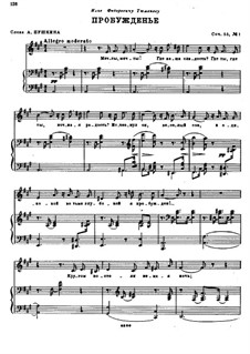 Four Romances, Op.55: set completo by Nikolai Rimsky-Korsakov