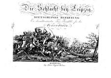 The Battle of Leipzig: The Battle of Leipzig by Philipp Jakob Riotte