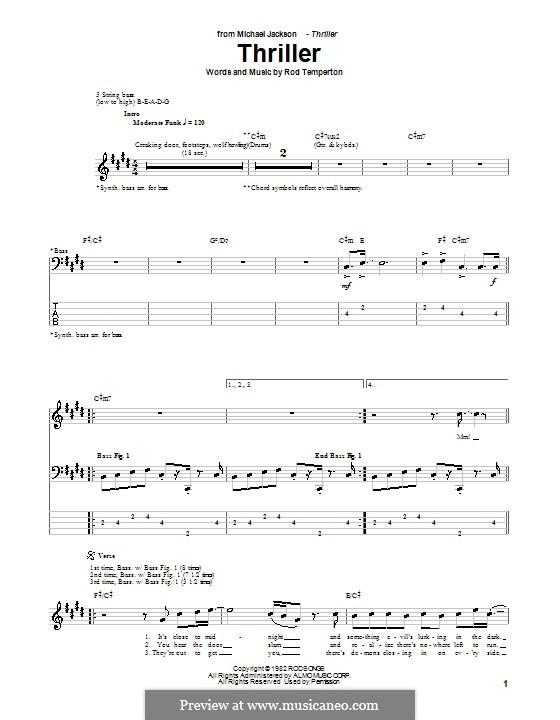 Vocal-instrumental version: para baixo com guia by Rod Temperton