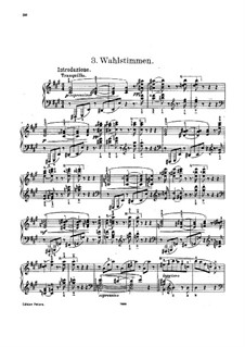 Waltz-Caprice No.3 after 'Wahlstimmen' by J. Strauss: Waltz-Caprice No.3 after 'Wahlstimmen' by J. Strauss by Carl Tausig