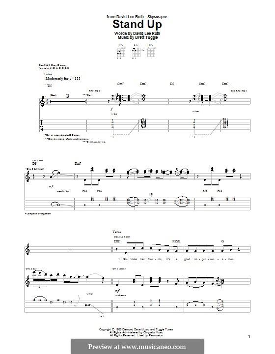 Stand Up: Para guitarra com guia by Brett Tuggle