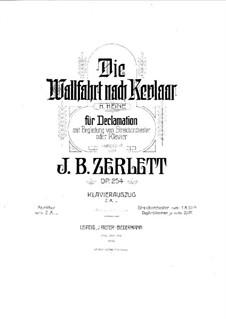Die Wallfahrt nach Kevlaar, Op.254: Die Wallfahrt nach Kevlaar by Johann Baptist Zerlett