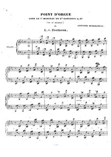 Cadenza to Movement I of Piano Concerto No.3 by Beethoven: Cadenza to Movement I of Piano Concerto No.3 by Beethoven by Anton Rubinstein