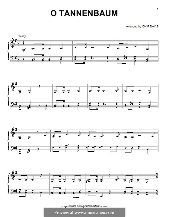O Christmas Tree, for Piano: para um único musico (Editado por H. Bulow) by folklore