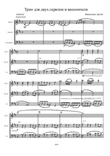 Mysterious Forest, Op.1: Partitura completa by Artem Nikitenko