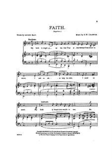 Faith: Faith by George Whitefield Chadwick
