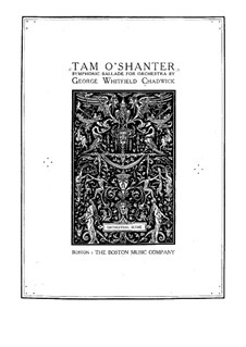 Tam O'Shanter: partitura completa by George Whitefield Chadwick