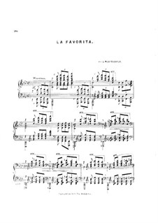 La Favorita, Op.68: La Favorita by Louis Moreau Gottschalk