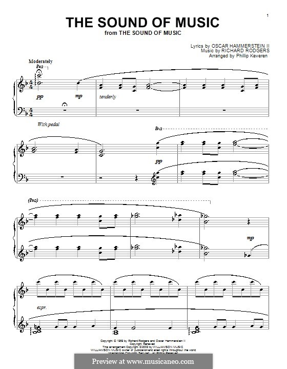 The Sound of Music: Para Piano by Richard Rodgers