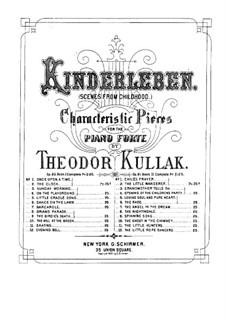 Scenes from Childhood, Op.62: set completo by Theodor Kullak