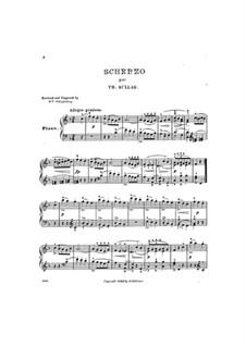 Scherzo in F Major: Scherzo in F Major by Theodor Kullak