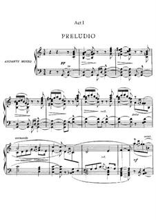 Le Villi (The Willis or The Fairies): Partitura Piano-vocal by Giacomo Puccini
