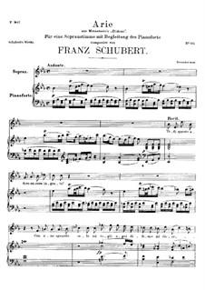 Didone Abbandonata (Vedi quanto adoro), D.510: Didone Abbandonata (Vedi quanto adoro) by Franz Schubert