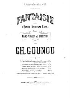 Fantasia on Russian National Hymn: Fantasia on Russian National Hymn by Charles Gounod