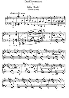 Three Piano Pieces: set completo by Edvard Grieg