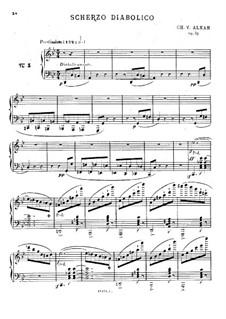 Douze études dans tous les tons mineurs (Twelve Etudes in All the Minor Keys), Op.39: Estudo No.3 by Charles-Valentin Alkan