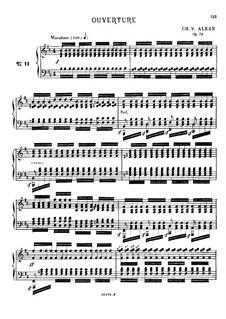 Douze études dans tous les tons mineurs (Twelve Etudes in All the Minor Keys), Op.39: Estudo No.11 by Charles-Valentin Alkan