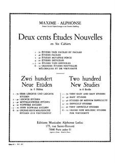 Two Hundred New Studies: livro V by Maxime Alphonse