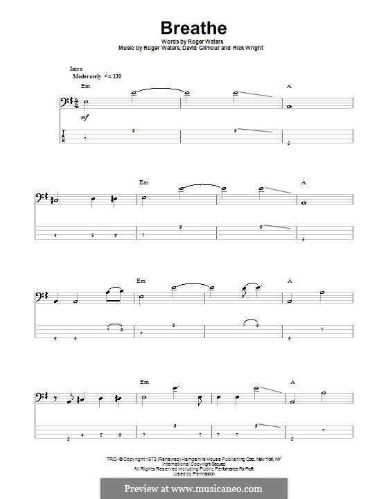 Breathe (Easy Star All-Stars): para baixo com guia by David Gilmour, Richard Wright, Roger Waters