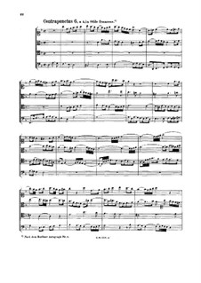 The Art of Fugue, BWV 1080: No.6-10 by Johann Sebastian Bach