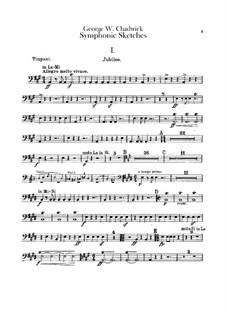 Symphonic Sketches: parte percusão by George Whitefield Chadwick