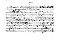 Sonata for Piano Four Hands in B Flat Major, K.358: partes by Wolfgang Amadeus Mozart