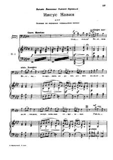 Joshua: Joshua by Modest Mussorgsky