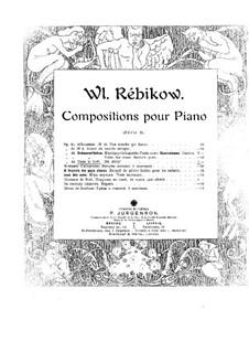 Dans la forêt, Op.43: Dans la forêt by Vladimir Ivanovich Rebikov