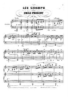 Les Champs, Op.39: Les Champs by Émile Prudent
