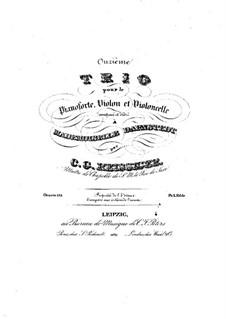 Piano Trio No.11, Op.125: Piano Trio No.11 by Carl Gottlieb Reissiger
