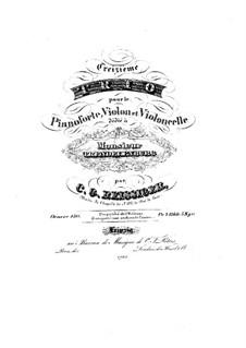 Piano Trio No.13, Op.150: Piano Trio No.13 by Carl Gottlieb Reissiger