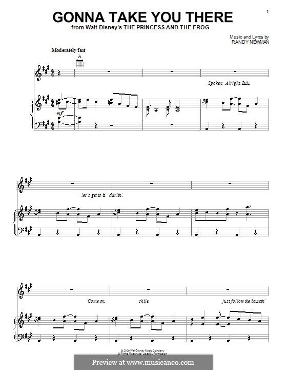Gonna Take You There: Para vocais e piano (ou Guitarra) by Jim Cummings