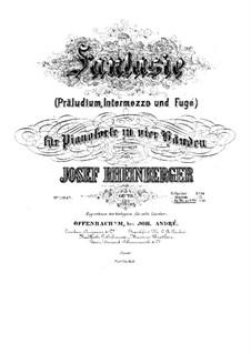 Fantasia for Piano Four Hands, Op.79: Fantasia for Piano Four Hands by Josef Gabriel Rheinberger