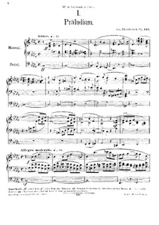 Sonata for Organ No.9, Op.142: Sonata for Organ No.9 by Josef Gabriel Rheinberger