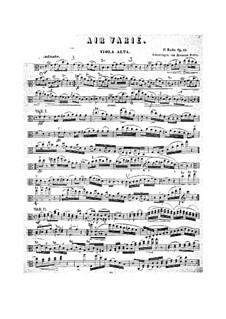 Air Varié, Op.10: Air Varié by Pierre Rode