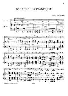 Fantastic Scherzo for Violin and Piano, Op.9: Fantastic Scherzo for Violin and Piano by Émile Sauret
