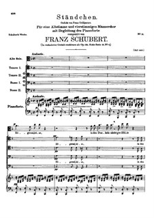 Zögernd, leise (Softly, Hesitantly), D.920: Zögernd, leise (Softly, Hesitantly) by Franz Schubert
