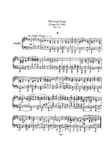 Gesänge der Frühe (Morning Songs), Op.133: set completo by Robert Schumann