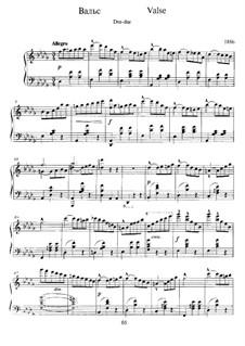 Waltz in D Flat Major: Waltz in D Flat Major by Alexander Scriabin
