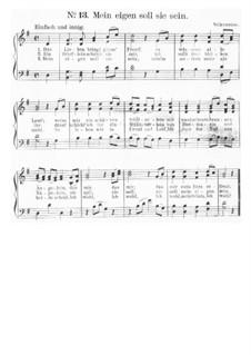 Das Lieben bringt groß Freud: Partitura Piano-vocal by Friedrich Silcher