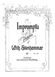 Impromptu in G Flat Major: Impromptu in G Flat Major by Wilhelm Stenhammar