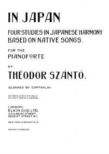 In Japan: Para Piano by Theodor Szántó
