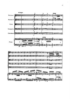 Allegro for Piano and Strings, TH 159: Allegro for Piano and Strings by Pyotr Tchaikovsky