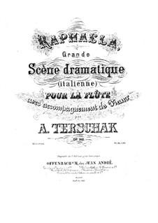 Raphaela, Op.148: para flauta e piano by Adolf Terschak