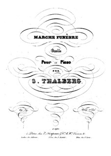 Variations on Funeral March, Op.59: Variations on Funeral March by Sigismond Thalberg