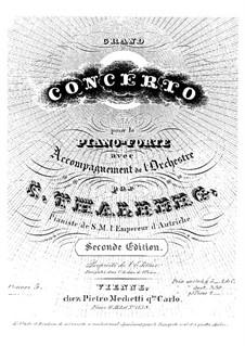 Grand Piano Concerto, Op.5: Grand Piano Concerto by Sigismond Thalberg