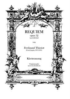 Requiem, Op.52: réquiem by Ferdinand Thieriot