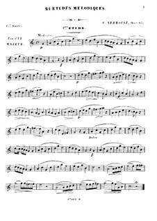 Twenty Four Etudes for Oboe, Op.65: Twenty Four Etudes for Oboe by Stanislas Verroust
